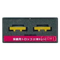 津川洋行 Nゲージ 14020 保線用トロッコ バラスト運搬車/2両入り (バラスト2個付)