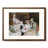 Bunny, Rupert Charles Wulsten,1864-1947 「Mrs.Herbert Jones mit ihren Tochtern Hilda und Dulce.」 額装アート作品