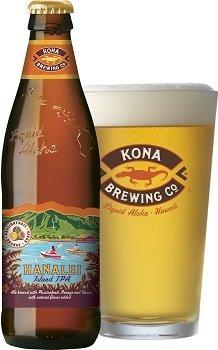 America beer アメリカ ビール/ハワイ ビール コナビール ハナレイ アイランドIPA (Hanalei Island IPA)瓶 355ml/24