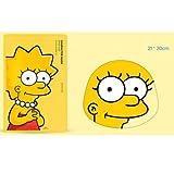 【The Face Shop (ザ・フェイスショップ)】 The Simpsons ザ・シンプソンズ キャラクターマスク 25g (3種類選択1) (リサ(ヒアルロン酸)) [並行輸入品]