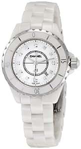 [シャネル] CHANEL 腕時計 J12 H1628 ホワイト 12Pダイヤ レディース [並行輸入品]