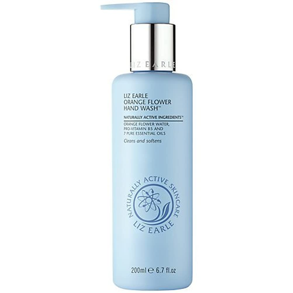 考古学的な順番バーターLiz Earle Orange Flower Hand Wash 200ml by Liz Earle [並行輸入品]