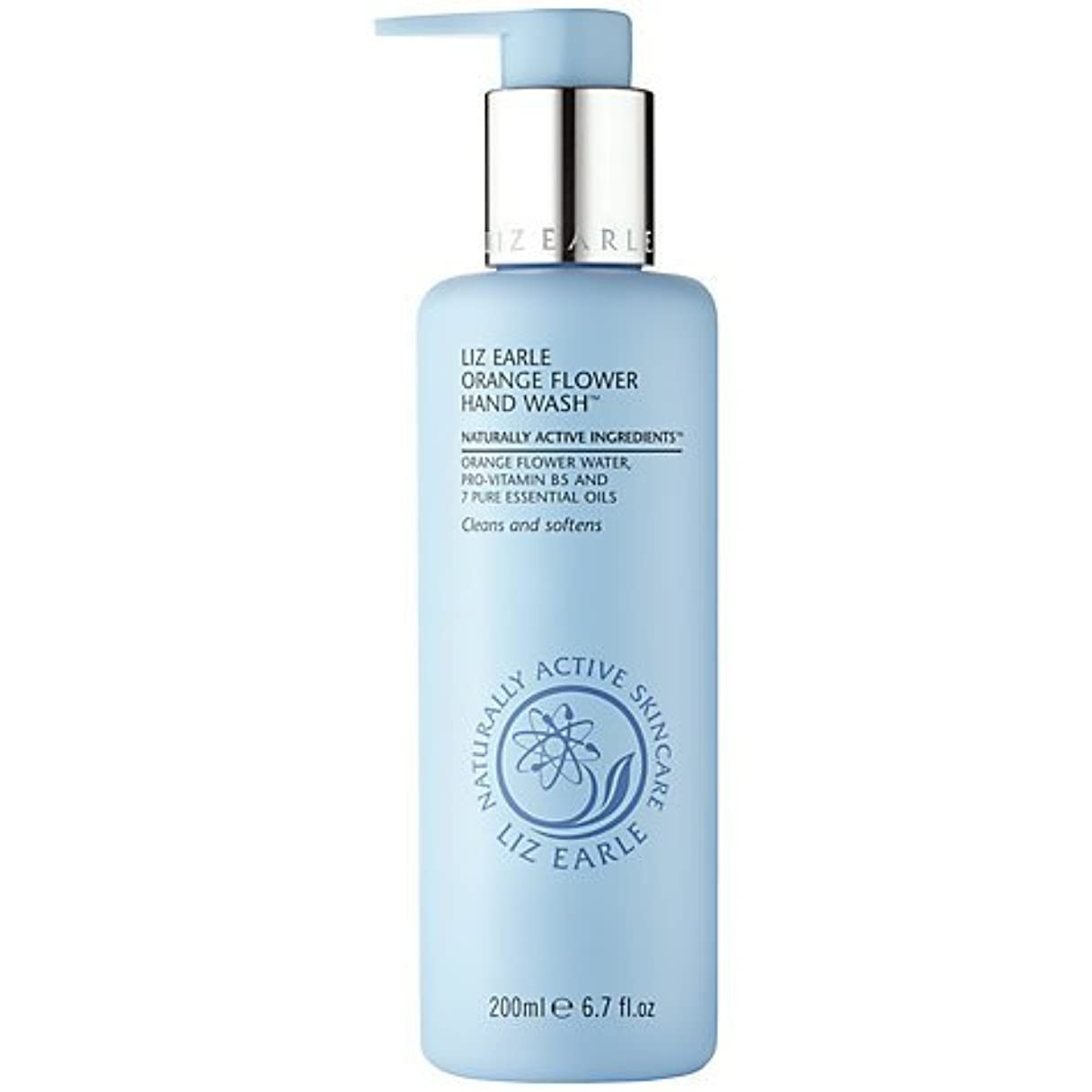 モール不信すりLiz Earle Orange Flower Hand Wash 200ml by Liz Earle [並行輸入品]