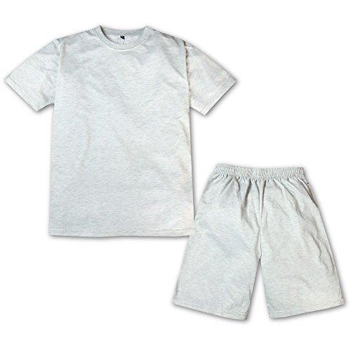 (オートミール/L) メンズ ジャージ 上下組 スーツ ダンボールニット スウェット 吸汗速乾 DRY 無地 セットアップ 紳士