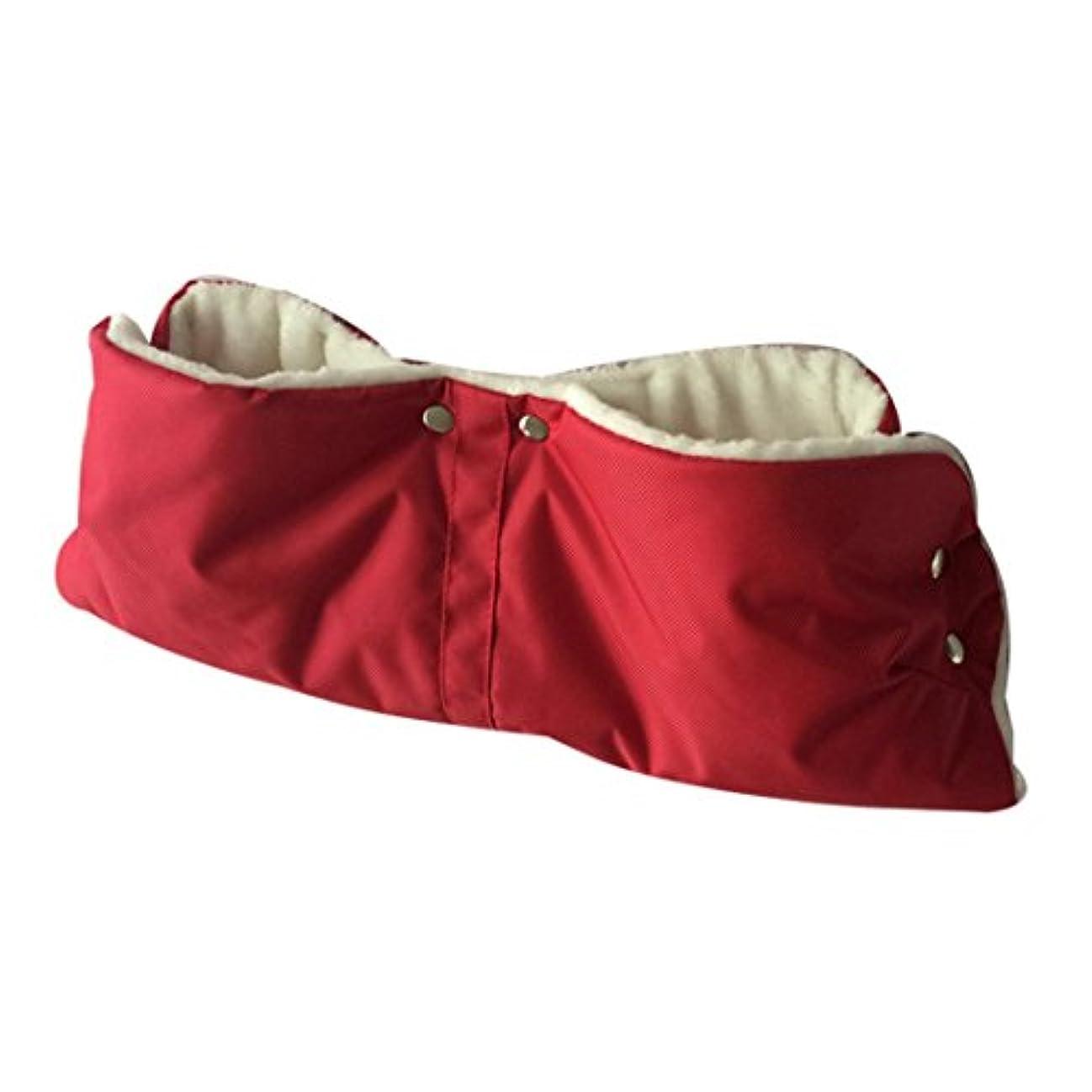 違うラオス人中止しますBaby Stroller暖かい手マフ冬anti-freeze防水Pushchairカートミトン厚手手袋、esharing
