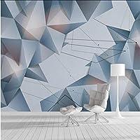 Mingld 壁のためのホーム改善3Dの壁紙3Dの装飾的な壁紙3Dの幾何学的な抽象的な線テレビの背景の壁紙壁画-350X250Cm