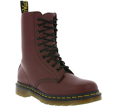 BACK TO BASIC 1490Z 10EYE BOOT Cherry Red Smooth 10092600