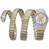 (ロベルトカヴァリ byフランクミュラー) ROBERTO CAVALLI BY FRANCK MULLER レディース 腕時計 Avvolgere Diamond Snake Wrap Watch [並行輸入品]
