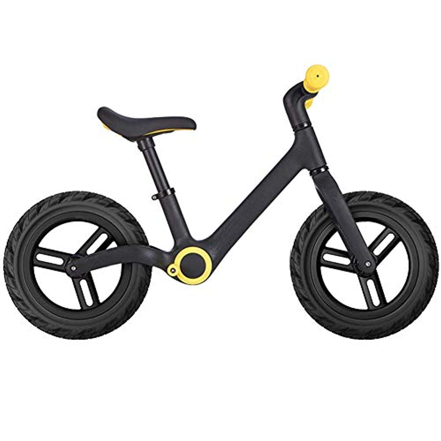 祈るメモ降臨幼児と子供のための自転車バランスバイク、インフレタイヤ付きの子供トレーニング自転車、幼児用の調整可能なシート2?6歳