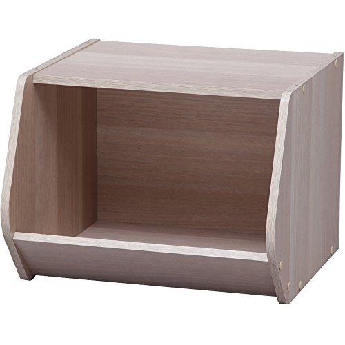 RoomClip商品情報 - アイリスオーヤマ スタック ボックス 幅40×奥行38.8×高さ30.5cm ナチュラル STB-400