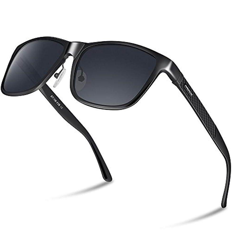 大きさヘビーキラウエア山PAERDE 偏光 サングラス メンズ 運転 軽量 UV400 紫外線カット スポーツサングラス 自転車/釣り/テニス/スキー/ランニング/ゴルフ/ドライブ PA05
