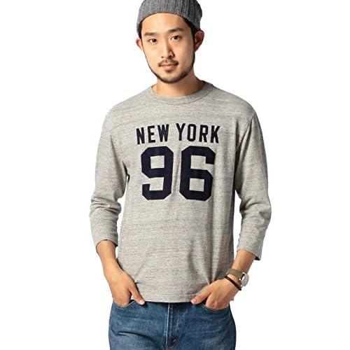 (ビームス) BEAMS CHESWICK×BEAMS / 別注 3/4フットボールシャツ 11100351086  GRAY M