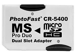 PhotoFast MS ProDuoデュアルアダプター CR-5400