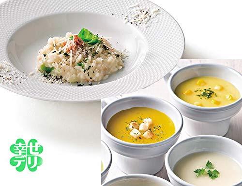 国産北海道素材を使用した海鮮リゾットの素と野菜スープセットA×1セット【結婚式 引出物 内祝い インスタント】