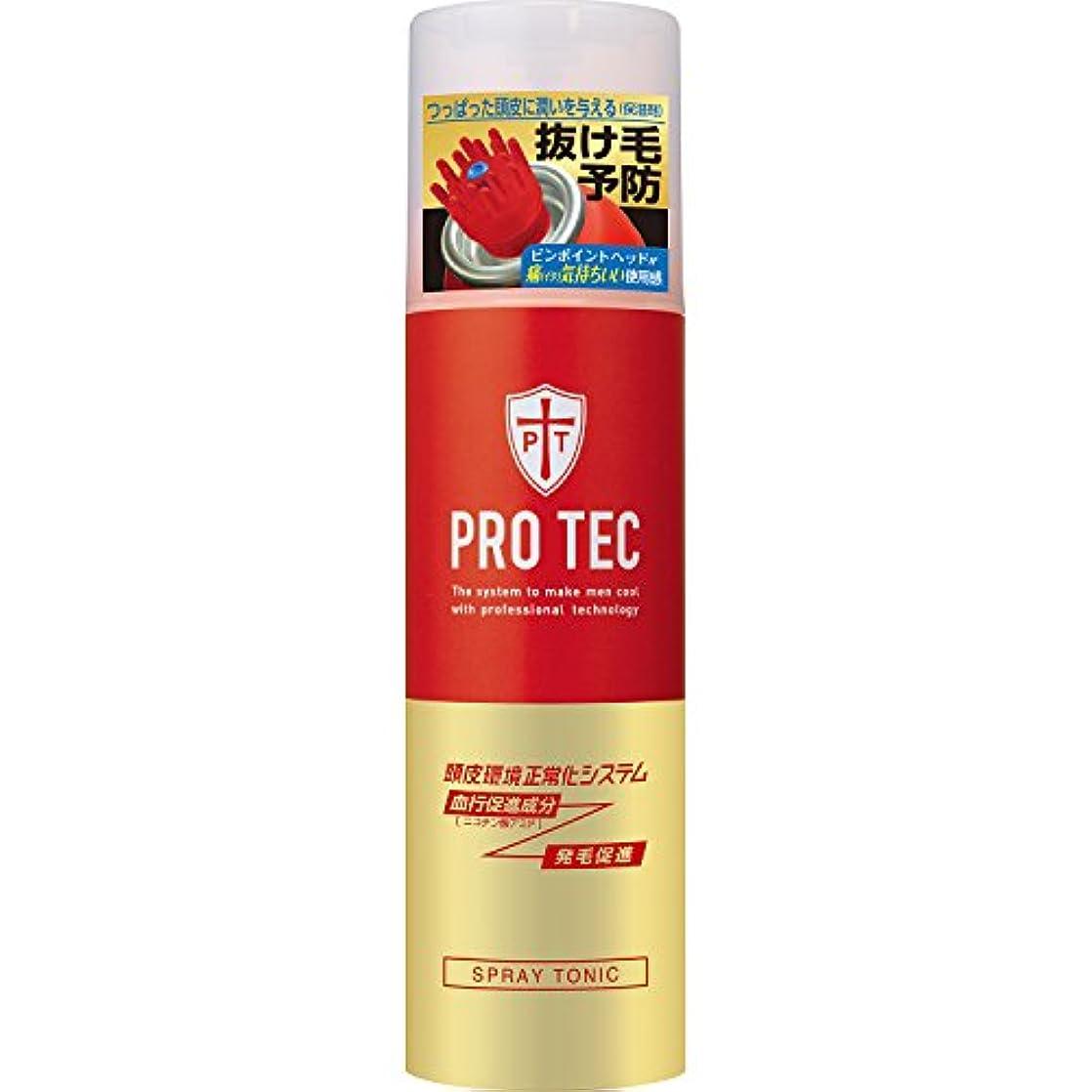 ロゴお父さん止まるPRO TEC(プロテク) スプレートニック 150g(医薬部外品)