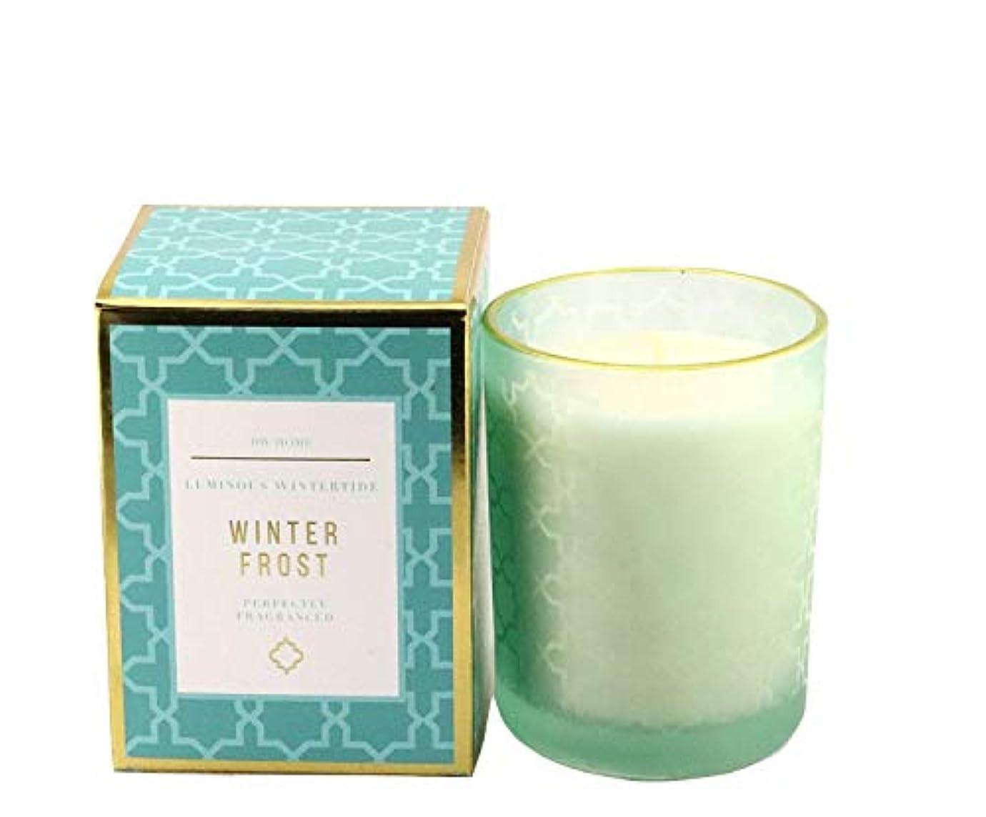 ほんのかもめ緯度DWホームMedium Single Wick Candle WINTER FROST