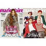 韓国雑誌 marie claire(マリ・クレール) 2018年 6月号 (f(x) のクリスタル&SHINee表紙選択/AOA、キム・ナムジュ、シン・ミナ、オ・ヨンソ、コ・ジュニ、チョン・ヘヨン記事)