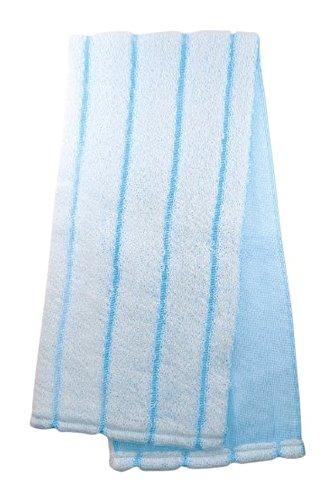マーナ 泡の泉ボディタオル ブルー B-577B(1枚入)