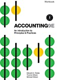 Cover of Accounting - An Introduction to Principles and Practice Workbook with Online Study Tools 12 months