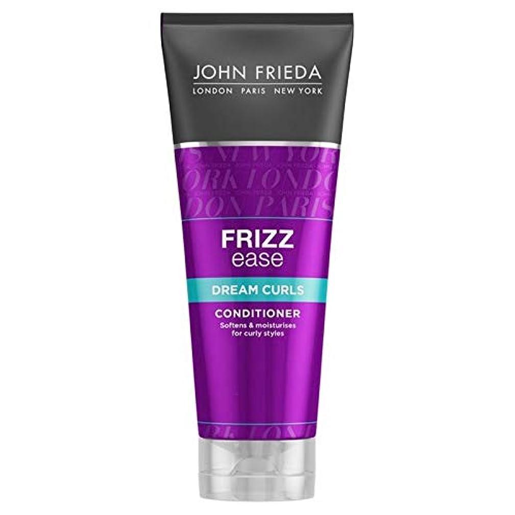噴火メトリックマルコポーロ[John Frieda ] ジョン?フリーダ縮れ容易夢のカールコンディショナー250Ml - John Frieda Frizz Ease Dream Curls Conditioner 250ml [並行輸入品]