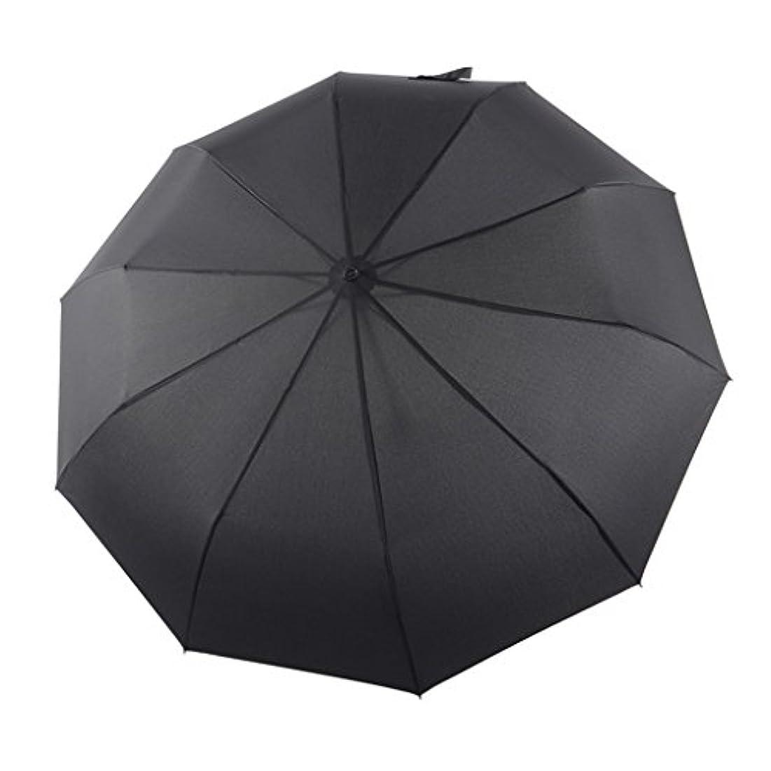 有用見物人飾る10骨自動傘折りたたみ増加メンズビジネス傘傘シンプル HYBKY