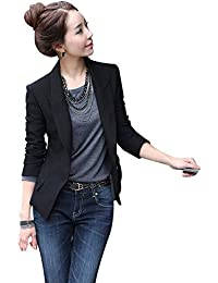 【TaoTech】 ジャケット レディース ブレザー スーツ ライトアウター 無地 修身 スリム
