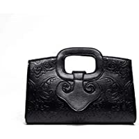 Shoulder Bag Ladies Handbags Shoulder Bag Diagonal Package Handbag Clutch (Color : Black)