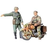 タミヤ 1/35 ミリタリーミニチュアシリーズ No.241 ドイツ陸軍 軍用オートバイ 野戦伝令セット プラモデル 35241