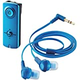 ELECOM エレコム iPhone6s/6s Plus対応 Bluetooth オーディオレシーバー (イヤホン付属) NFC・AAC対応 ブルー LBT-PHP150BU