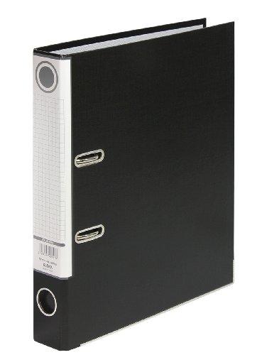 ハピラレバー式アーチファイル A4タテ 背幅50mm 10冊 ブラック SGLAF5BK ハピラ
