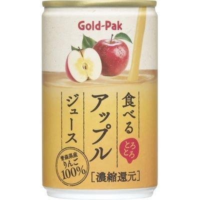 ゴールドパック 食べるアップルジュース(160g*20本入)
