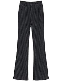 Fashion maker(F&M)パンツスーツ ロングパンツ レディース オフィス 就活 通勤 ビジネス 事務服 フォーマル 大きいサイズ 全3色 美脚 着痩せ