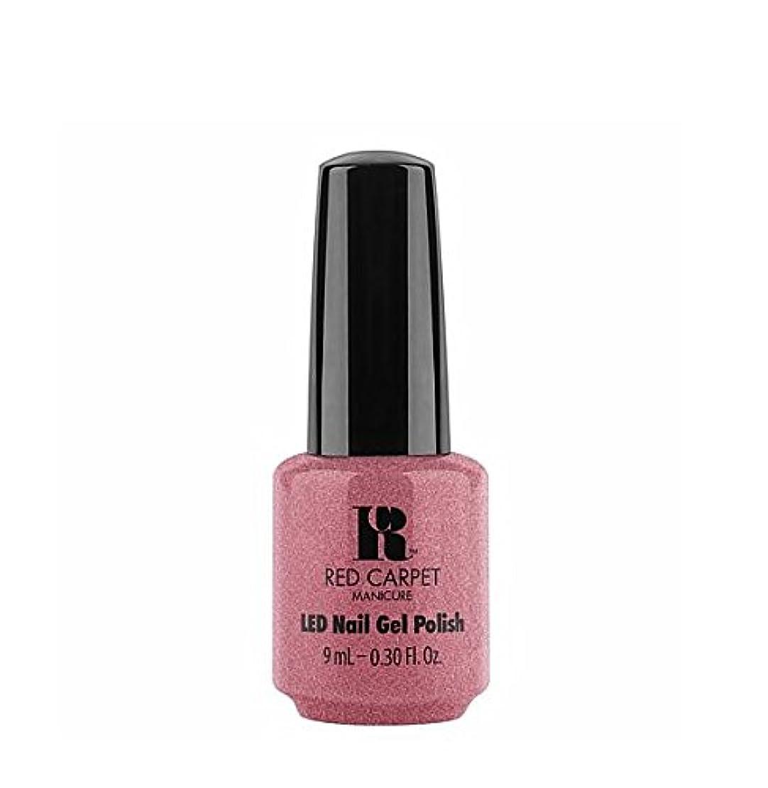 イヤホンメトロポリタン操作Red Carpet Manicure LED Gel Polish - Buttoned Up Babe - 9 ml/0.30 oz