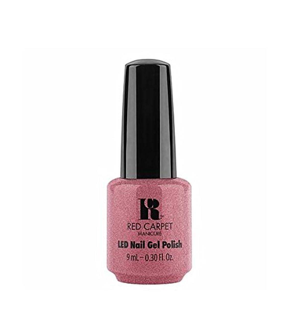 単独でライラックキラウエア山Red Carpet Manicure LED Gel Polish - Buttoned Up Babe - 9 ml/0.30 oz