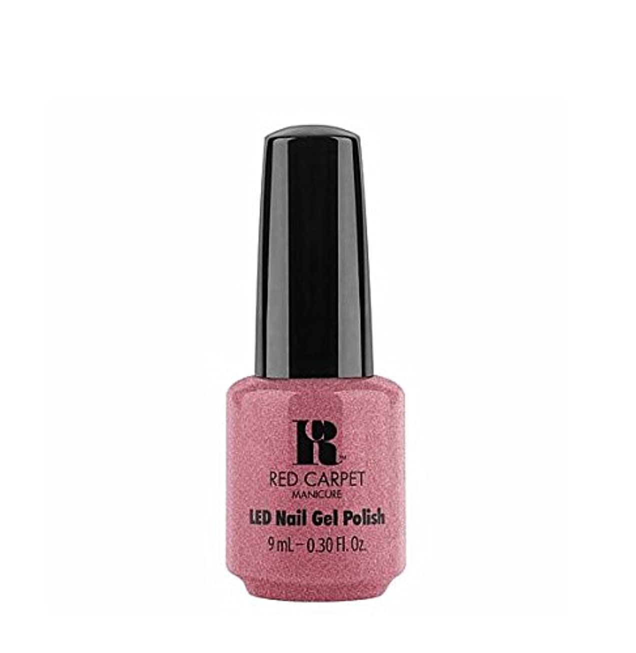 入手します極貧うねるRed Carpet Manicure LED Gel Polish - Buttoned Up Babe - 9 ml/0.30 oz