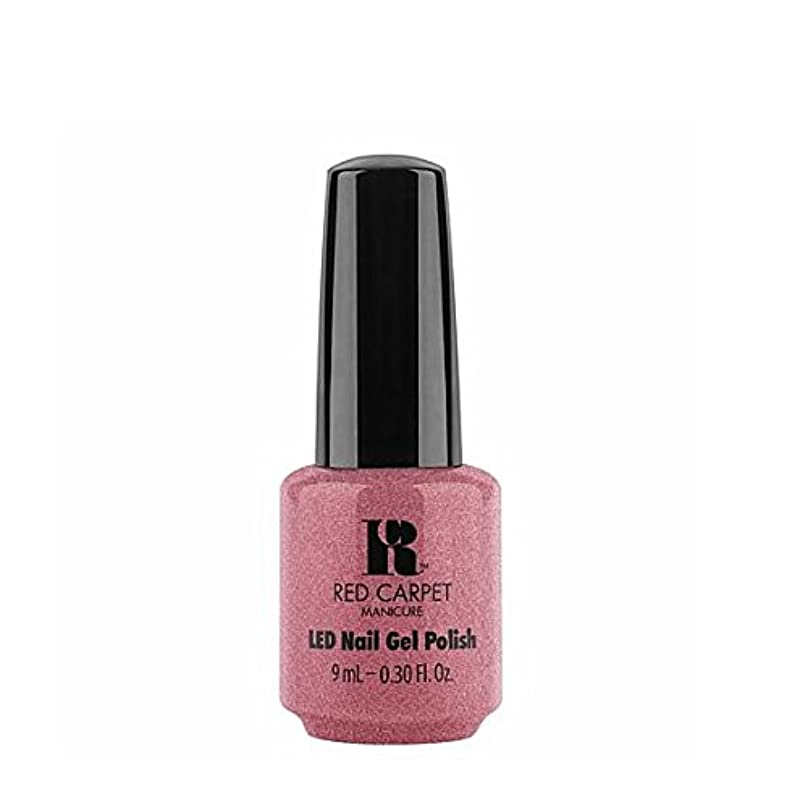 障害者いらいらさせる契約するRed Carpet Manicure LED Gel Polish - Buttoned Up Babe - 9 ml/0.30 oz