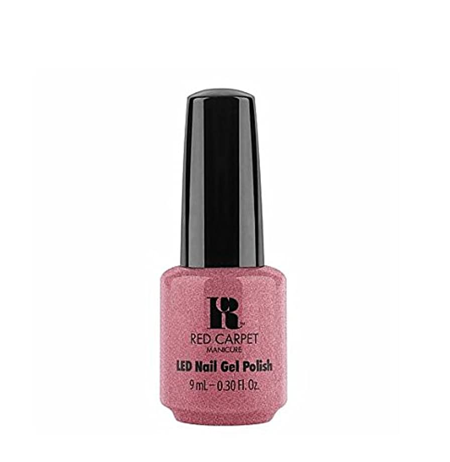 お別れワゴン粘り強いRed Carpet Manicure LED Gel Polish - Buttoned Up Babe - 9 ml/0.30 oz
