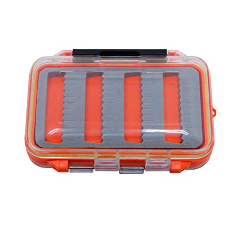 LIYUDL Double Side Waterproof Plastic Foam Fly-Fishing Bait Lure Hook Storage Case Box