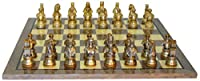 Camelot Pewter Grey Briar Chess Set