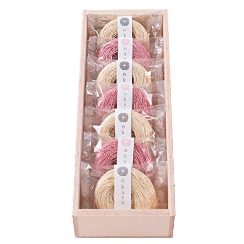 お中元 三輪そうめん okuru 内祝い ギフト 贈り物 贈答品 ギフトセット 紅白麺 hi-25a/un 350g レシピ付き
