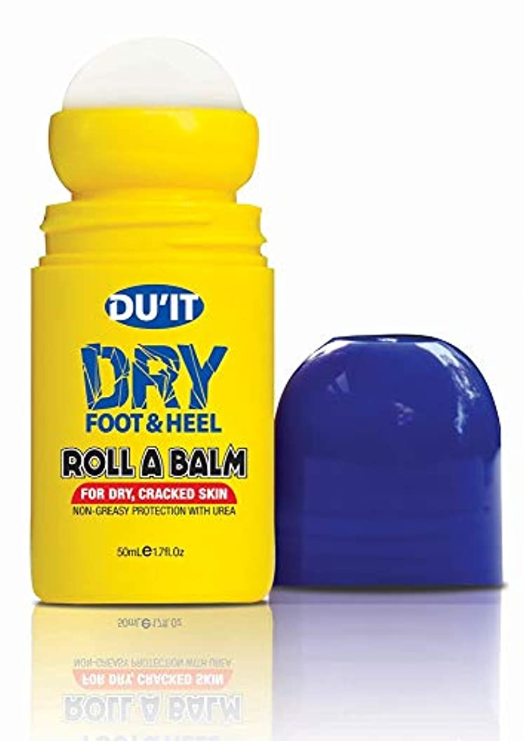 財布アクロバット結び目Du'It Dry Foot & Heel Roll A Balm ドライフット&ヒールバーム ロールオンタイプ 50mL[海外直送品] [並行輸入品]