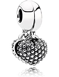 PANDORA Pendant Charms Sterling Silver Mother And Son