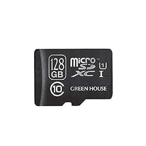 グリーンハウス microSDHCカード 128GB Class10 UHS-I対応 GH-SDMRXCUB128G