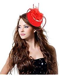 ヘッドドレス ウエディング 髪飾り ウェディングハット 欧風 帽子 レディース チュール付き ヘアアクセサリー 花飾り ファッション小物 花嫁用品 パーティー イベント 結婚式 カクテルハット