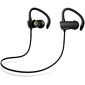SoundPEATS サウンドピーツBluetooth ワイヤレス イヤホン 耳掛け式 Bluetooth 4.1 aptXコーデック採用 CVC6.0ノイズキャンセリング Q9A (ブッラク)
