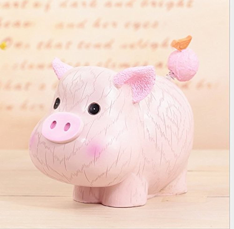 マネー バンク 漫画12月のギフトレジンデコレーション(小型豚)節約箱