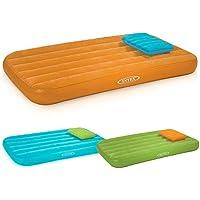 INTEX インテックス キッズ エアーベット 枕付き 66801 オレンジ 子供 簡易ベット [並行輸入品]