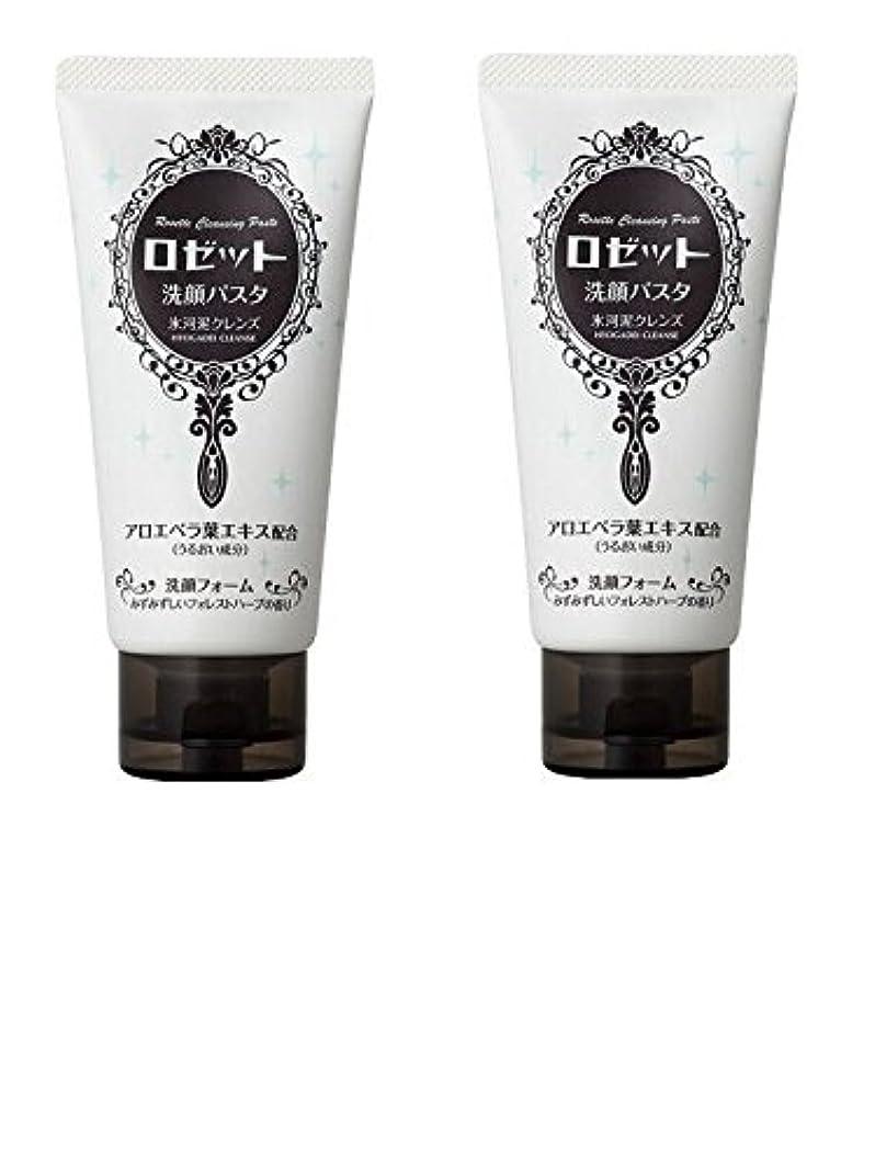 【2個まとめ買い】ロゼット 洗顔パスタ 氷河泥クレンズ 120g