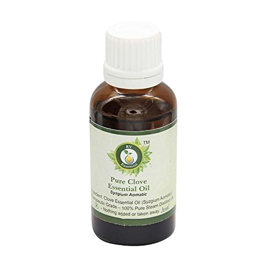 定期的にイタリック感嘆R V Essential ピュアクローブエッセンシャルオイル300ml (10oz)- Syzgium Aomatic (100%純粋&天然スチームDistilled) Pure Clove Essential Oil