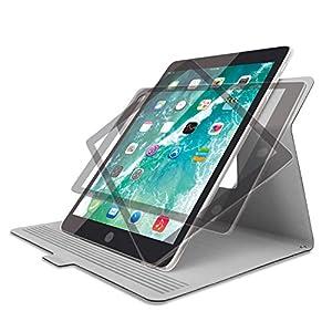 エレコム ケース iPad 9.7inch 2018年/2017年モデル フラップカバー ソフトレザー 360度回転 スリープ対応 ブラック TBWA18RWVSMBK